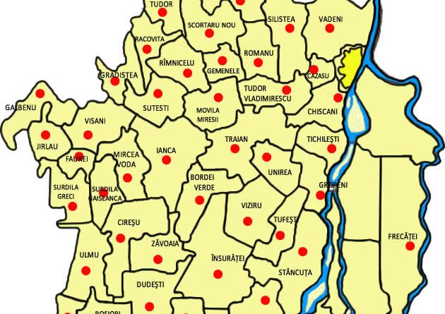 Lista Localităților Din Brăila Unde A Fost Demarat Programul De