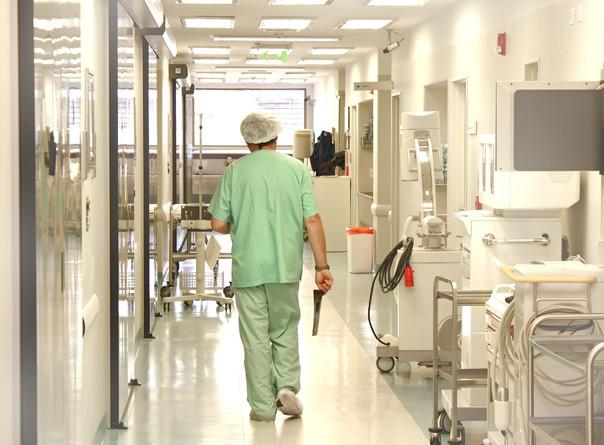 Medic in spital