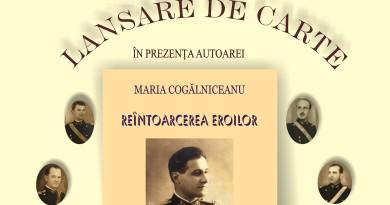 Afis lansare Cogalniceanu