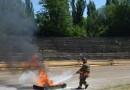 Pompierii brăileni în concurs