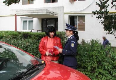 Dacă e duminică, poliţiştii se adresează posesorilor de autovehicule