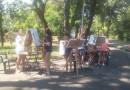 Facepainting si picturi pe panza, la Zilele Brailei