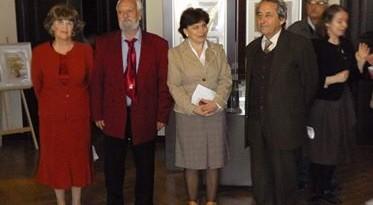 Stef expune la Sectia de Etnografie a muzeului