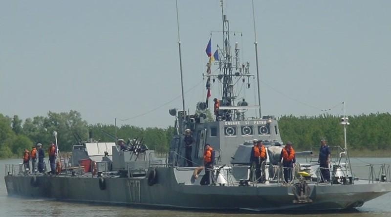 Portul Brăila – Șase nave militare fluviale la Exercițiul Danube Protector