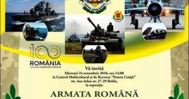 afis armata expo