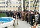 Inaugurarea Ansamblului comemorativ al eroilor neamului din cadrul Garnizoanei Brăila.