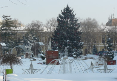 Zăpadă de sărbători. Cum va fi vremea la Brăila, în weekend, de Ziua României, de Crăciun și de Revelion