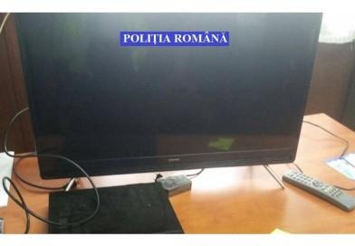 Arestat pentru un televizor furat