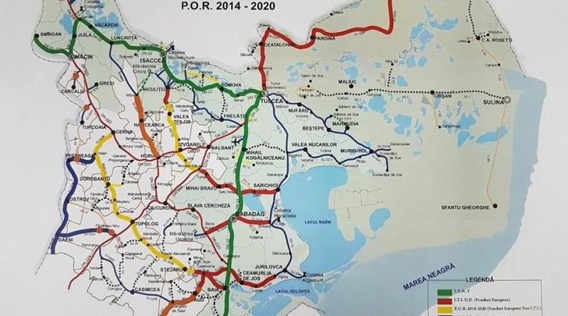 Harta drum