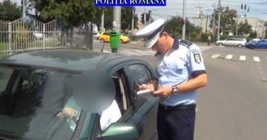 politie beat la volan