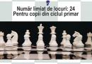 Antrenăm inteligența! Încep înscrierile la Cercul de șah ROCADA!