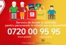 Livrare la domiciliu pentru persoanele în vârstă sau cu dizabilități