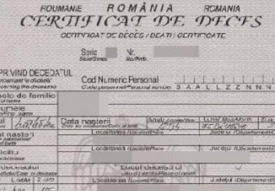 ANUNȚ IMPORTANT! Procedura privind declararea decesului pe timp de stare de urgență pe teritoriul României