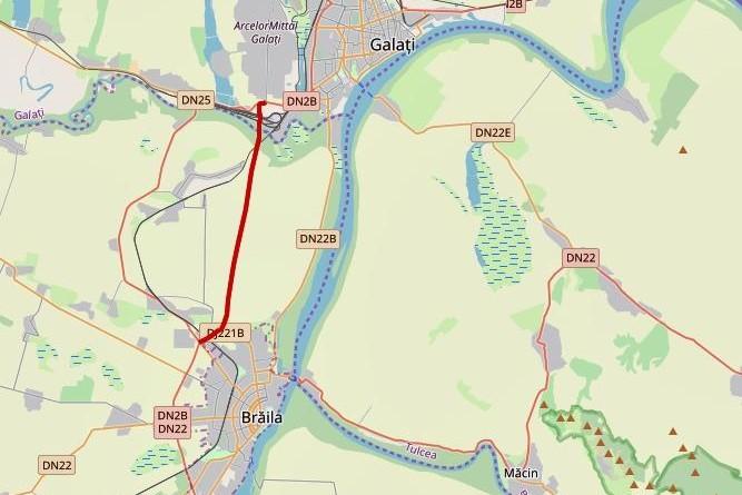 Harta drum expres