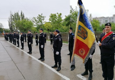 16jandarmi brăileniau depus Jurământul Militar