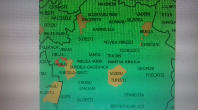 harta deschidere