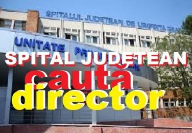 Spitalul Județean Brăila, cauată MANAGER