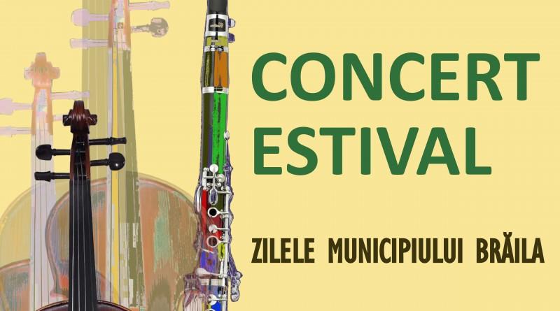 Concert estival în Gradina Mare