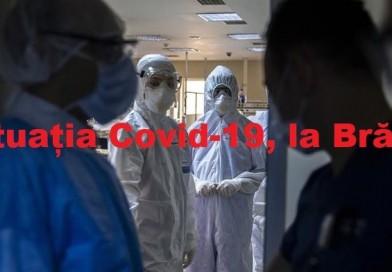 Pentru azi la Brăila avem 31 cazuri nou confirmate de Covid. Incidența la 1000 de locuitori este de 0,44