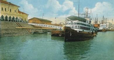 Braila-Portul in 1915