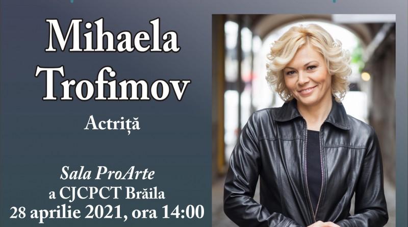 afis Interviu Mihaela Trofimov