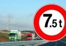 Circulația camioanelor de mare tonaj interzisă în aproape toată țara din cauza caniculei pe 1 și 2 august